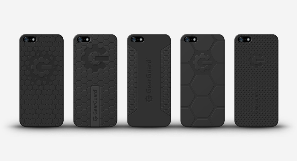 GearGuard iPhone case models